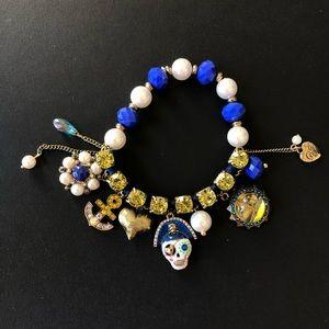 Betsey Johnson Pirate Link Bracelet